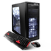 power gamer desktop black processor radeon